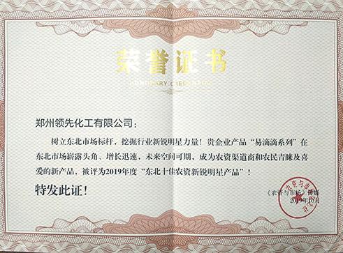 2019年度东北新锐奖